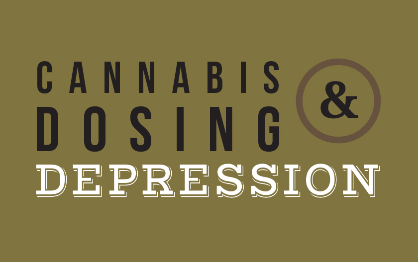 medical marijuana dosing for depression