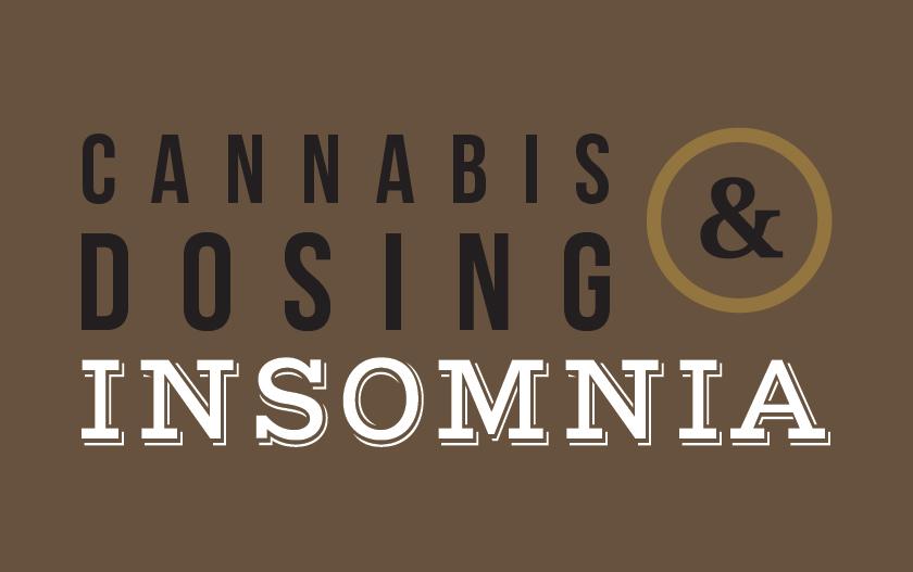 medical marijuana dosing for insomnia