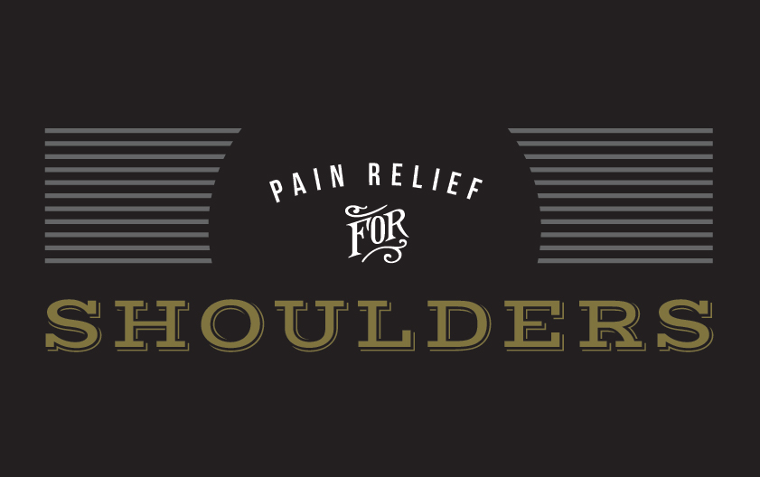 pain relief for shoulders